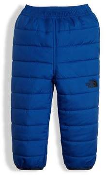 The North Face Reversible Perrito Quilted Pants, Blue, Size 3-24 Months