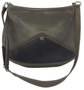 Gucci Vintage Grey Cross Body Bag - GREY - STYLE