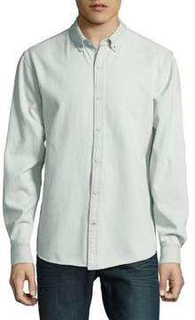 Joe's Jeans Long-Sleeve Cotton Button-Down Shirt