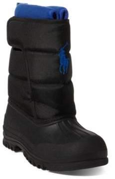 Ralph Lauren Hamilten Ii Quilted Ez Boot Black 4