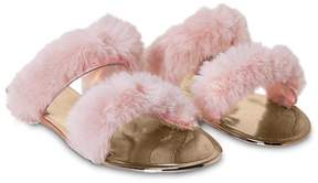 Nasty Gal nastygal May the Fur Be With You Faux Fur Sandal