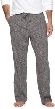 Croft & Barrow Men's True Comfort Slubbed Knit Lounge Pants