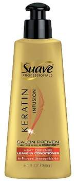 Suave Professionals Keratin Heat Defense Leave-In Conditioner - 5.1 fl oz