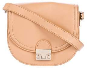 Loeffler Randall Leather Flap Shoulder Bag