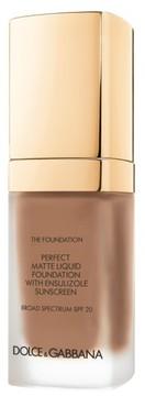 Dolce&gabbana Beauty Perfect Matte Liquid Foundation - Amber 148