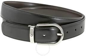 Montblanc Reversible Black/Brown Leather Belt