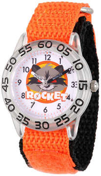 Marvel Guardian Of The Galaxy Boys Orange Strap Watch-Wma000139