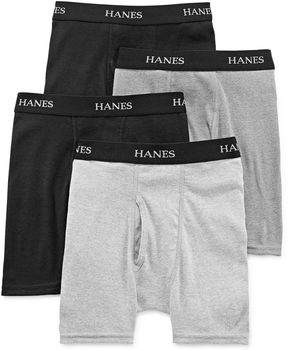 Hanes Ultimate 4-pk. ComfortFlex Dyed Boxer Briefs - Boys 6-20