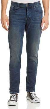 BOSS ORANGE 90 Knit Slim Fit Jeans in Dark Blue Wash