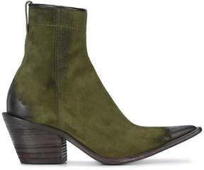 Haider Ackermann Taurus Pointed Toe boots