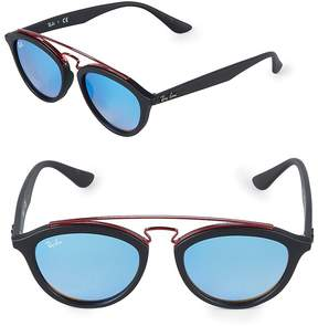 Ray-Ban Women's 19MM Double Bridge Gatsby Sunglasses