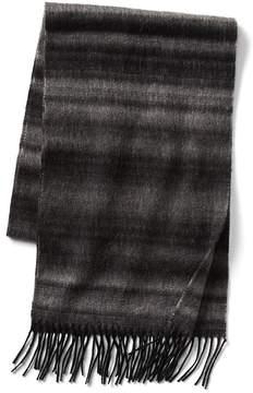 Gap Ombre stripe wool scarf