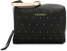 Twin-Set studded pouch