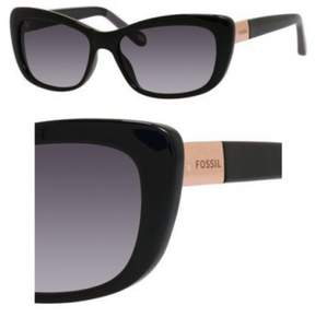 Fossil Sunglasses 3040/S 0D28 Black 54MM
