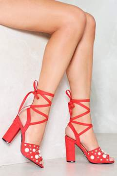 Nasty Gal nastygal Grand Opening Embellished Heel