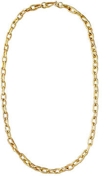 Ashley Pittman Hammered Bronze Chain Necklace, 36L