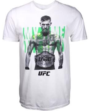 Reebok Conor McGregor UFC My Time My Belt Shirt - White - 2X-Large