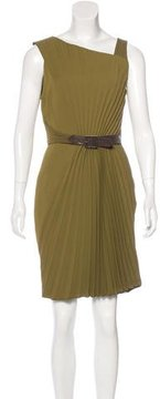 Andrew Gn Sleeveless Pleated Dress w/ Tags