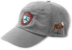 L.L. Bean Maine Inland Fisheries and Wildlife Baseball Cap, Moose