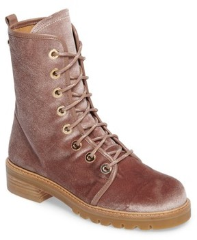 Stuart Weitzman Women's Metermaid Combat Boot