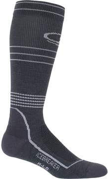Icebreaker Hike Plus Light Cushion Anatomical Compression Over The Calf Sock