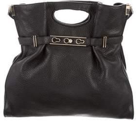 Henri Bendel Leather Satchel Bag