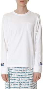 Sacai conquest White T-shirt In Cotton