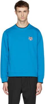 Kenzo Blue Tiger Crest Sweatshirt