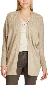 Chaps Women's Open-Front Cardigan