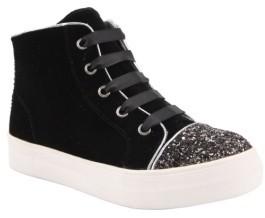Nina Girl's Devorah Glittery High Top Sneaker