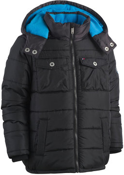 Tommy Hilfiger Alexander Hooded Puffer Coat, Toddler Boys (2T-5T)