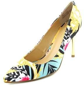 Thalia Sodi Elina Pointed Toe Canvas Heels.