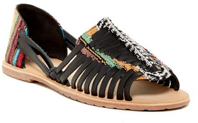 Rebels Darcy Woven Leather Sandal