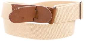 Tod's Canvas Waist Belt