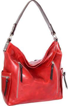 Nino Bossi Justice Leather Shoulder Bag (Women's)