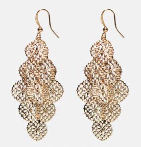 Avenue Filigree Coin Chandelier Earrings