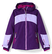 Lands' End Girls Stormer Jacket-Perfect Purple
