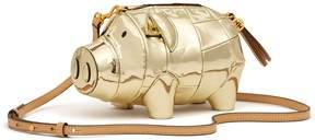 Tory Burch PEGGY THE PIG METALLIC MINI BAG