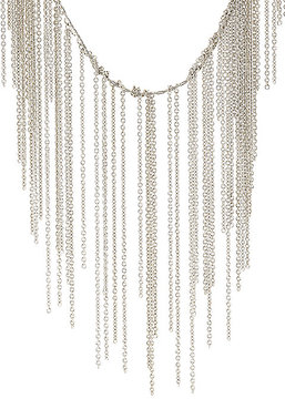 Fallon WOMEN'S CABLE-CHAIN FRINGE NECKLACE