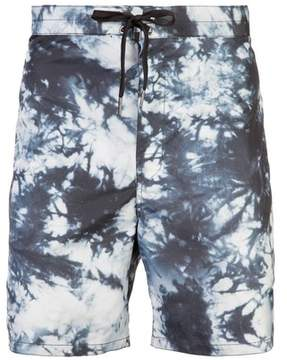 Cynthia Rowley | New School Printed Board Short | Xl | Black