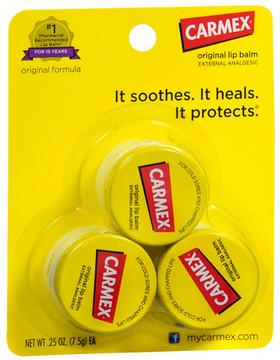 Carmex Lip Balm Jar Original