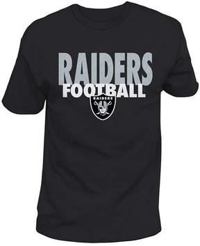 Authentic Nfl Apparel Men's Oakland Raiders Stunt Blitz T-Shirt