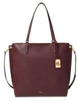 Lauren Ralph Lauren Anfield Faux Leather Tote Bag
