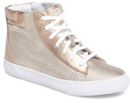 Keds Girl's Double Up High Top Sneaker