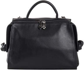 Christopher Kon Black Sierra Leather Crossbody Bag