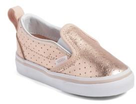 Vans Girl's 'Classic' Slip-On Sneaker