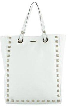 Rebecca Minkoff Leather Toki Tote - WHITE - STYLE