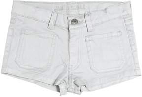Zadig & Voltaire Coated Stretch Cotton Denim Shorts