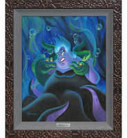 Disney ''Ursula and Her Messengers'' Giclee on Canvas by Michael Humphries - Limited Edition