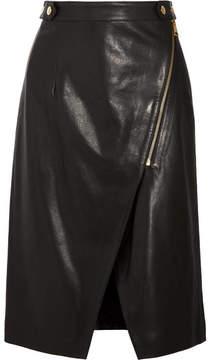 Vanessa Bruno Habby Leather Skirt - Black